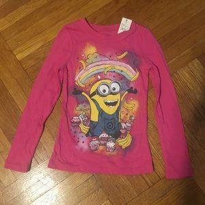 NEW! Despicable Me Minion Glitter Shirt